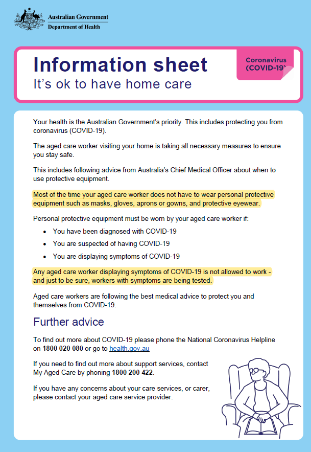 It Is OK To Have HOME CARE